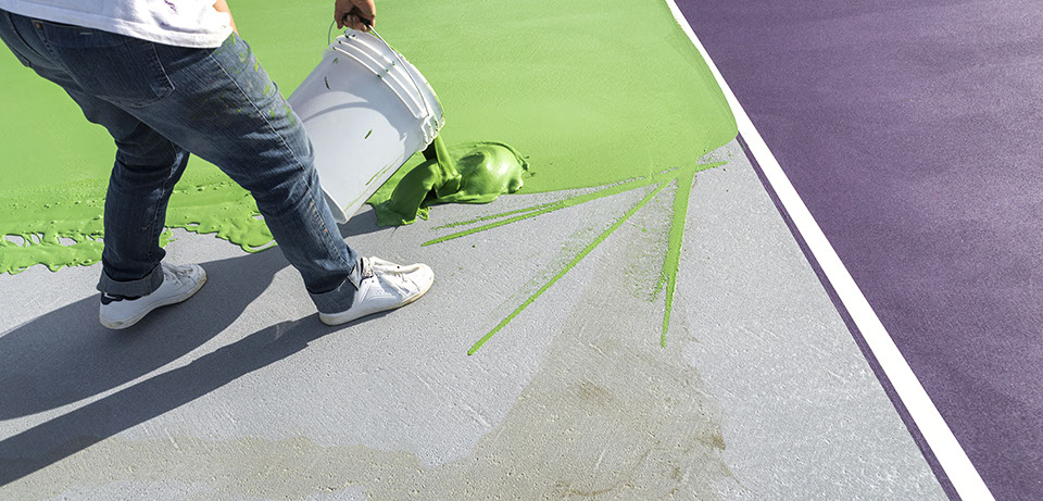 Line Painting and Concrete Floor Coatings